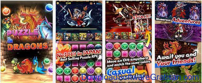 Game Alternatif  Pokemon untuk Android Puzzle Dragons