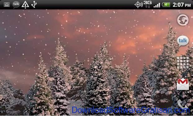 Live Wallpapers Android Gratis Terbaik Snowfall Free Live Wallpaper