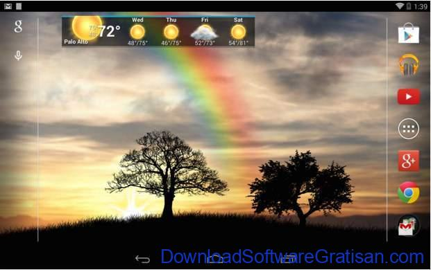 Live Wallpapers Android Gratis Terbaik Sun Rise Free Live Wallpaper