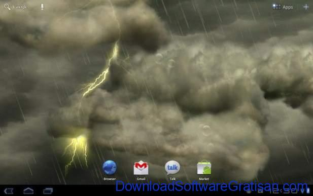 Live Wallpapers Android Gratis Terbaik Thunderstorm Free Wallpaper