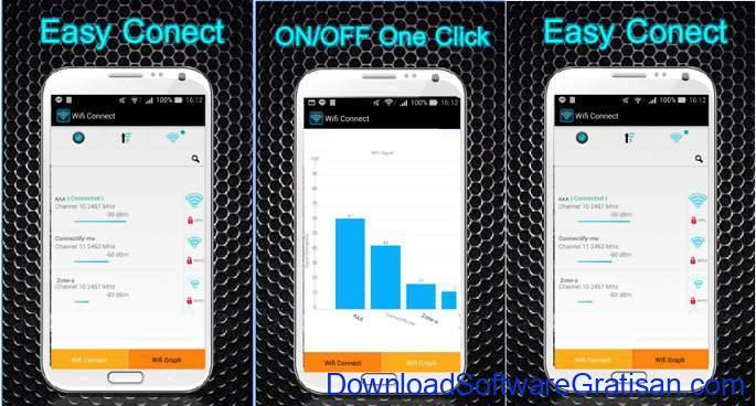 aplikasi penguat wifi gratis terbaik android Wifi Booster Easy Connect