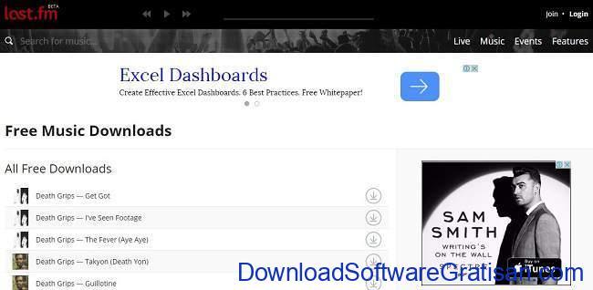Situs Download Lagu Gratis Terbaik download lagu gratis lastfm