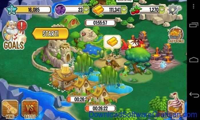 Game Alternatif  Pokemon untuk Android dragon city