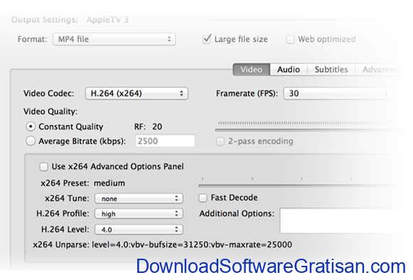 Download Handbrake Terbaru Aplikasi Konversi Video Gratis untuk PC