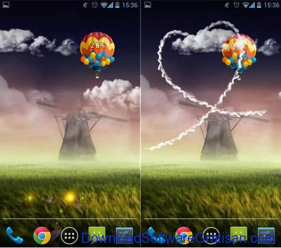 Live Wallpapers Android Gratis Terbaik psychedelic prairie