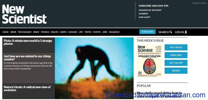 situs kecerdasan buatan newscientist