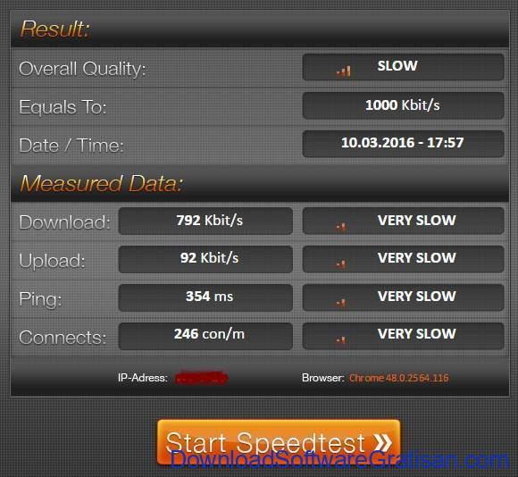 Situs Tes Kecepatan Internet Online Terbaik speed.io