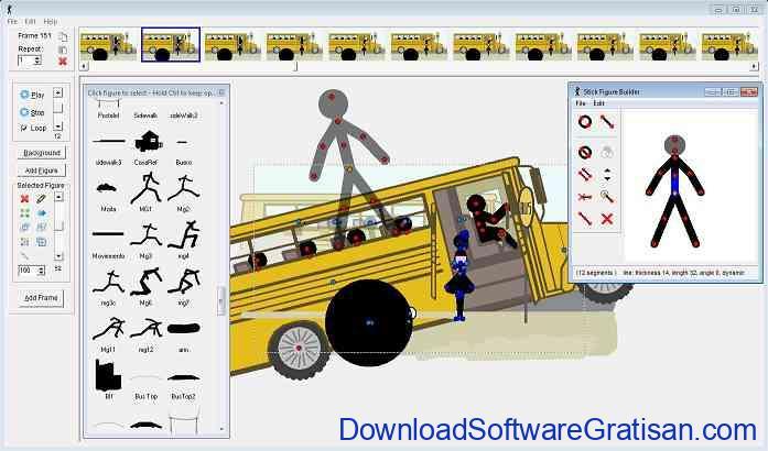 Aplikasi Animasi Stick Figure Pivot Animator