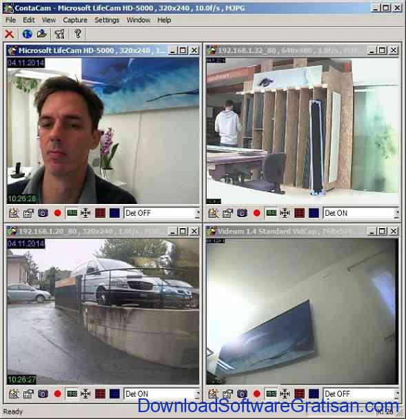 Aplikasi Kamera CCTV Contacam
