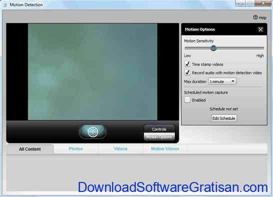 Aplikasi Kamera CCTV Logitech Webcam Software