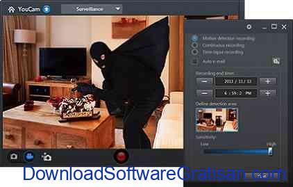 Aplikasi Kamera CCTV YouCam