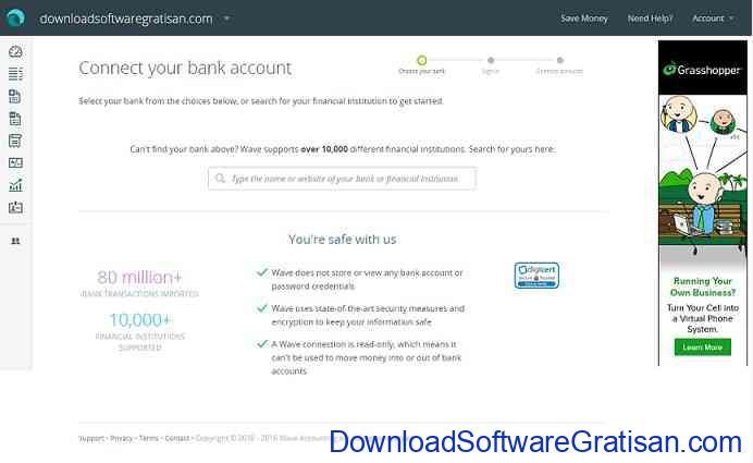 Software Akutansi atau Laporan Keuangan Gratis Terbaik bank