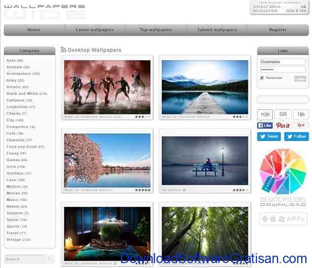 Situs Download Wallpaper Hd Keren Untuk Laptop