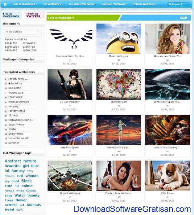 Situs Download Wallpaper HD Keren untuk Laptop wallpaperhere