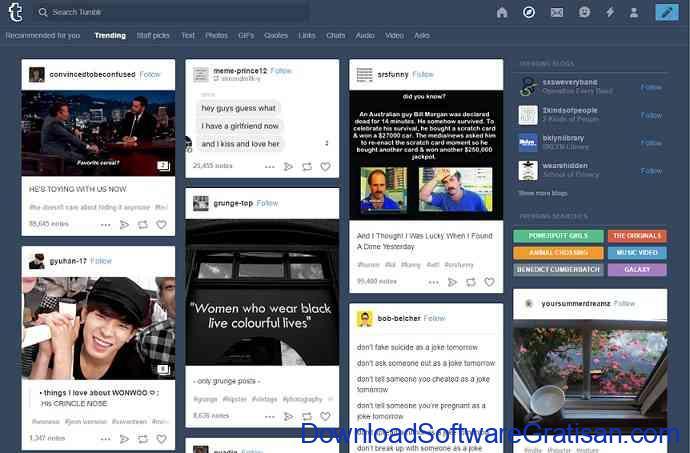 daftar blog gratis tumblr