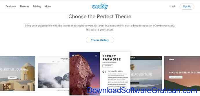 daftar blog gratis weebly