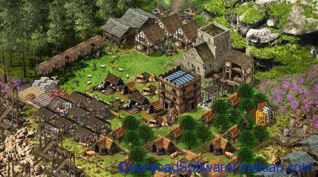 game membangun kota stronghold kingdoms