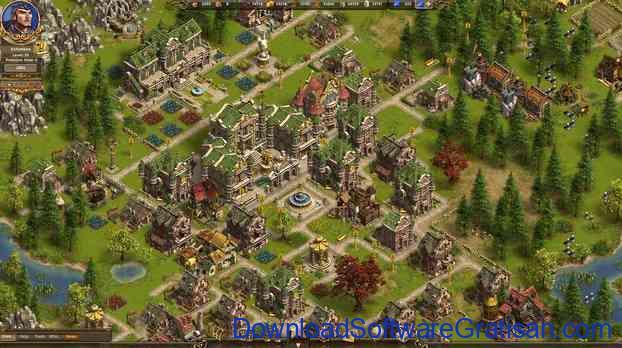 game membangun kota the settlers online
