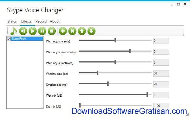 Aplikasi Pengubah Suara Skype Voice Changer