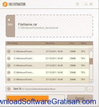 Aplikasi RAR File Extractor