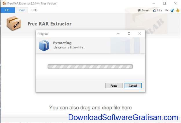 Aplikasi RAR Free RAR Extractor