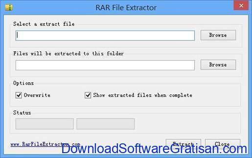 Aplikasi RAR RAR File Extractor