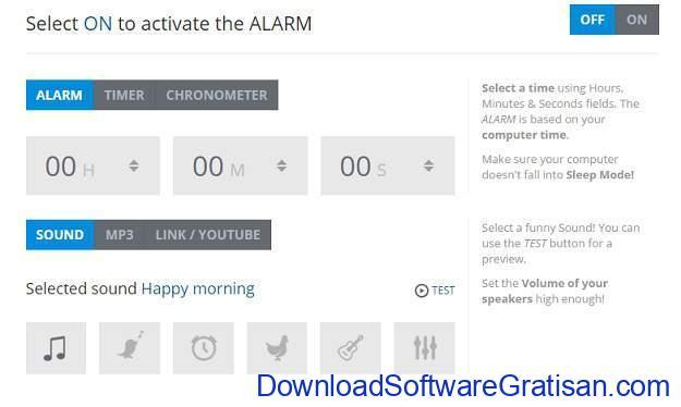 Situs Jam Alarm Online OnlineClockAlarm