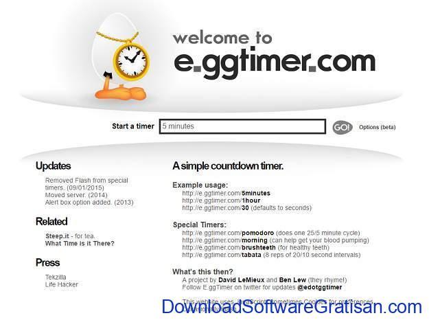 Situs Jam Alarm Online eggtimer