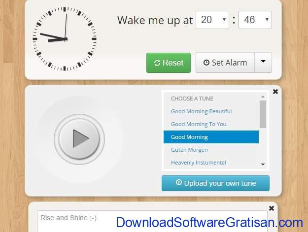 Situs Jam Alarm Online metaclock