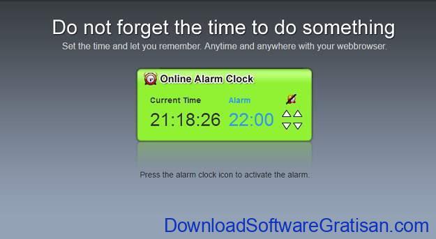 Situs Jam Alarm Online miniwebapps