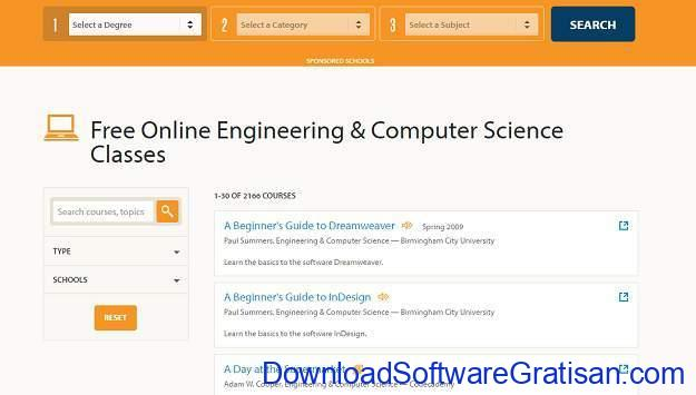 Situs Kursus IT Online Gratis Terbaik OEDB