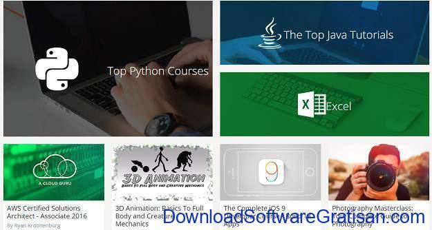 Situs Kursus IT Online Gratis Terbaik Udemy