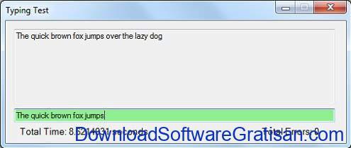 Tes Kecepatan Mengetik 10 Jari Typing Test