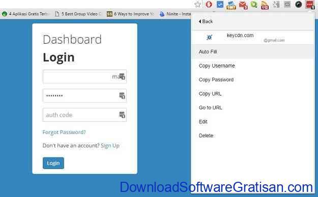 Password Manager Gratis Terbaik LastPass Auto Fill