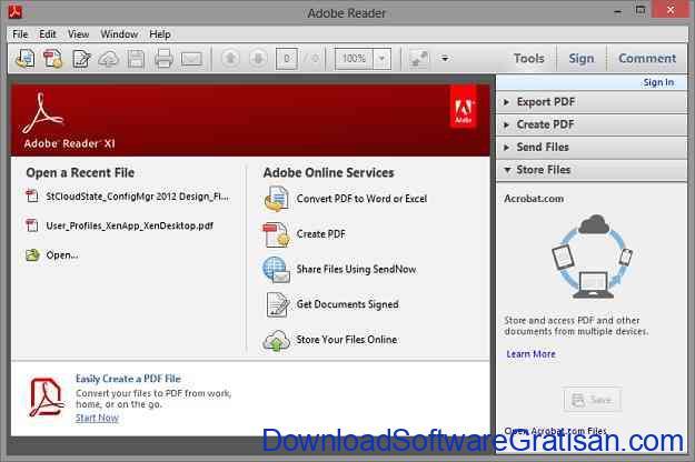 6 Aplikasi untuk Membaca File Dokumen PDF Terbaik Adobe