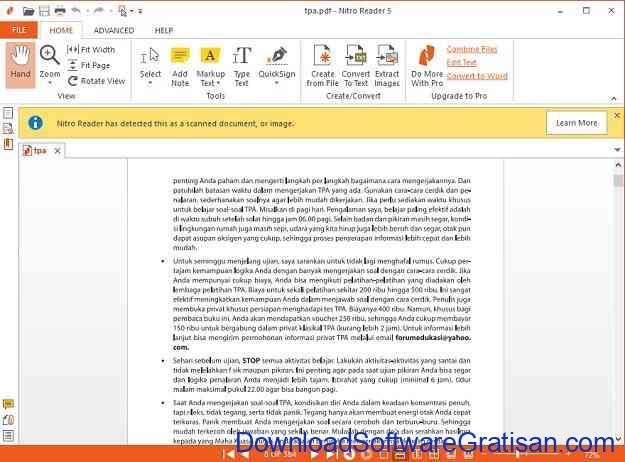 6 Aplikasi untuk Membaca File Dokumen PDF Terbaik Nitro