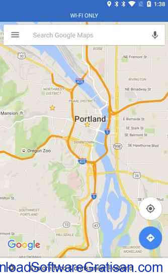 Google Maps untuk Android untuk menambahkan mode WiFi-only Bar