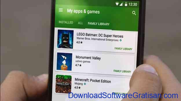 Google Play Family Library Rilis Hari Ini