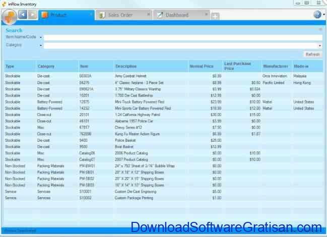 Aplikasi Gratis untuk Membuat Katalog Produk InflowFree