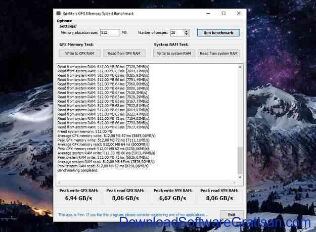 Aplikasi Tes Kecepatan RAM Gratis untuk PC