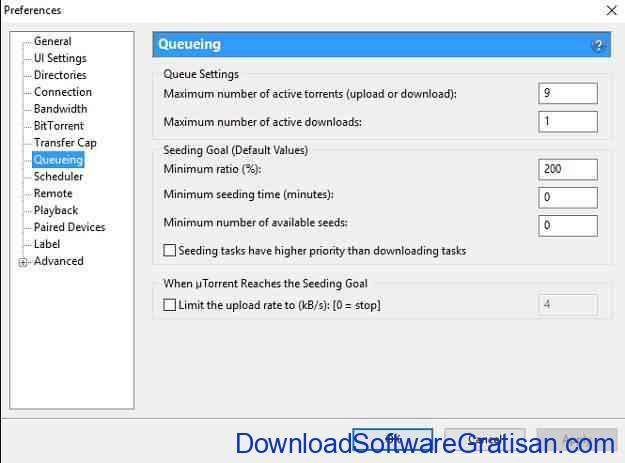 Cara Mempercepat Download uTorrent Queing