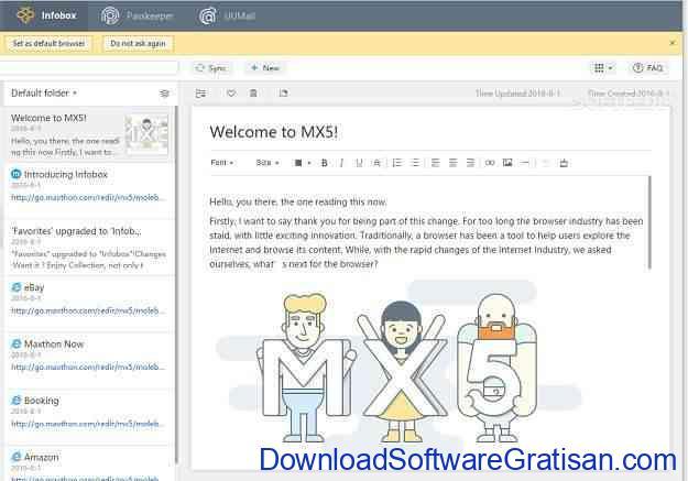 Maxthon 5 Beta Sebuah Evolusi Browser Menjadi Asisten Pribadi
