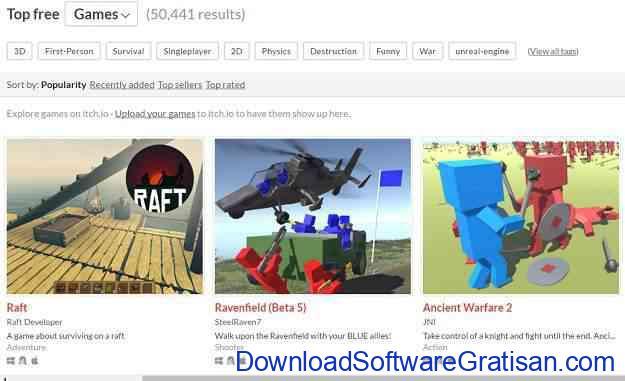 Situs Download Game Android Gratis APK Offline