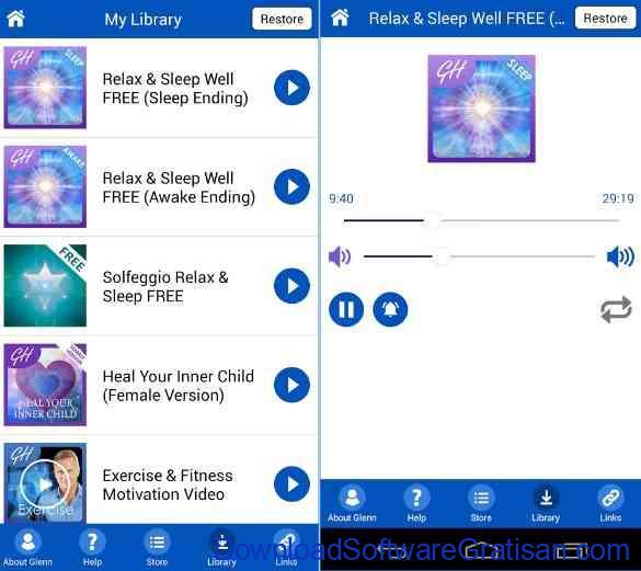Aplikasi Android untuk Membantu Tidur Nyenyak Hipnosis Relax & Sleep Well