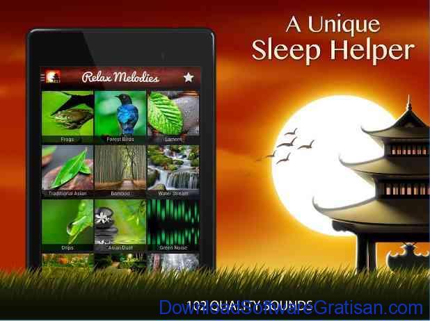 Aplikasi Android untuk Membantu Tidur Nyenyak Relax Meditation Sleep Sounds