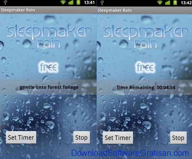 Aplikasi Android untuk Membantu Tidur Nyenyak Sleepmaker Rain