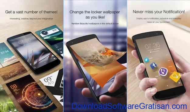 Aplikasi Kunci Layar Gratis Terbaik untuk Android Go Locker