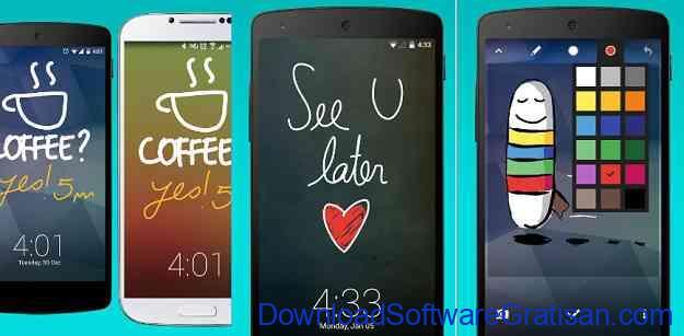 Aplikasi Kunci Layar Gratis Terbaik untuk Android Loklok