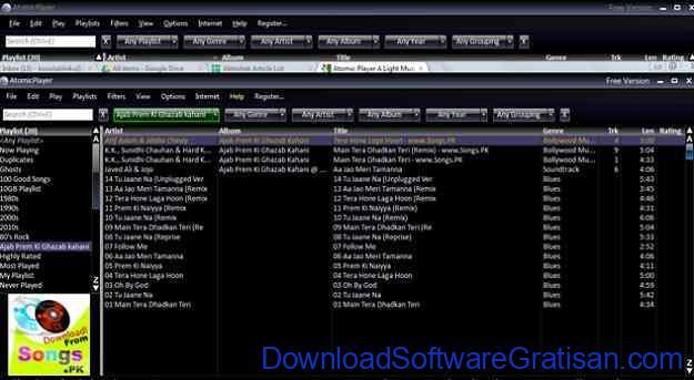 Aplikasi Radio AtomicPlayer