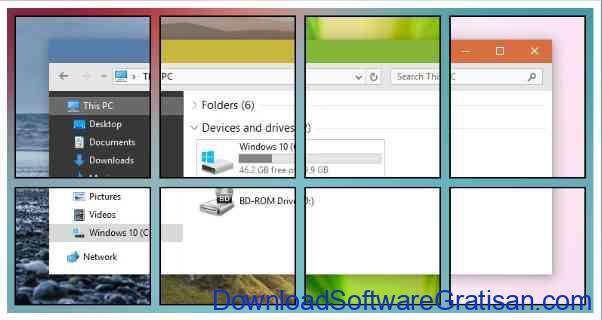 Tema Gratis Terbaik Windows 10 metro-x